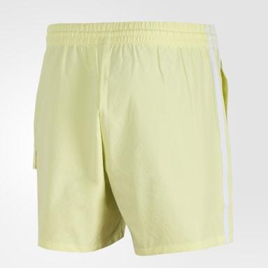 Men Sportswear Yellow ID Cargo Shorts