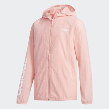 Chamarra Rompevientos Favorites (UNISEX) Rosa Niño Training