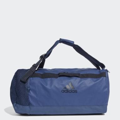 Volleyball Blue 4ATHLTS ID Duffel Bag Medium