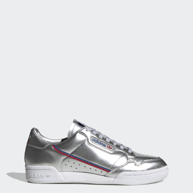 Men Originals Silver Continental 80 Shoes