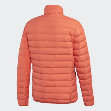 Men City Outdoor Orange Varilite Soft Down Jacket