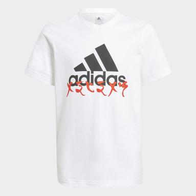 Boys Gym & Training White adidas x LEGO® NINJAGO® Graphic T-Shirt