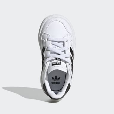 Toddlers 1-4 Years Originals White Team Court Shoes