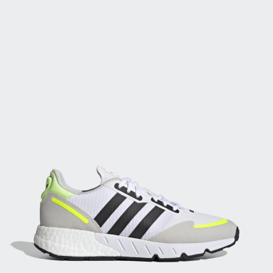 Originals White ZX 1K Boost Shoes