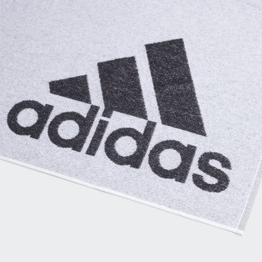 Swimming White adidas Towel Small