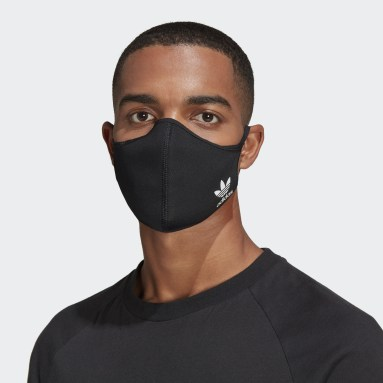Men Sportswear Multicolor Face Covers 3-Pack M/L