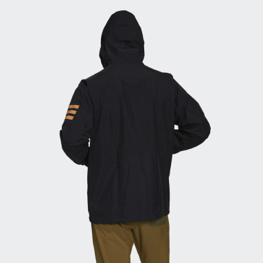 Men TERREX Black Terrex Xploric Rain Jacket