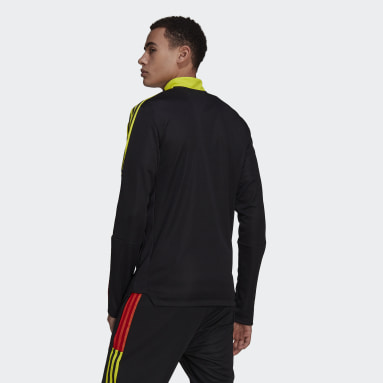 Men Cricket Black Tiro Track Top