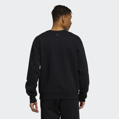 Originals Black Pharrell Williams Basics Crewneck Sweatshirt (Gender Neutral)