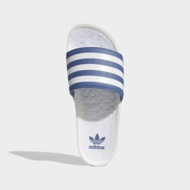 Men's Originals Blue Adilette Boost Slides
