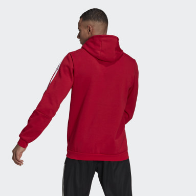 Men's Lifestyle Red Tiro 21 Sweat Hoodie
