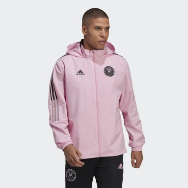 Veste Inter Miami CF All-Weather Rose Hommes Football