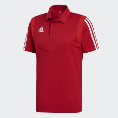 Muži Fotbal červená TIRO19 POLO
