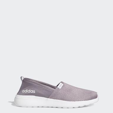 Women's Essentials Purple Lite Racer Shoes
