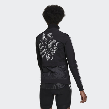 Women Cycling Black The JEM Trackstand Cycling Track Top