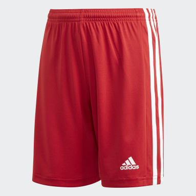 Short Squadra 21 rouge Adolescents Soccer