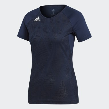Ženy Squash modrá Dres Quickset