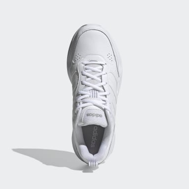 Men Sport Inspired White Strutter Shoes