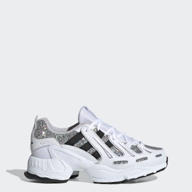 Women Originals White EQT Gazelle Shoes