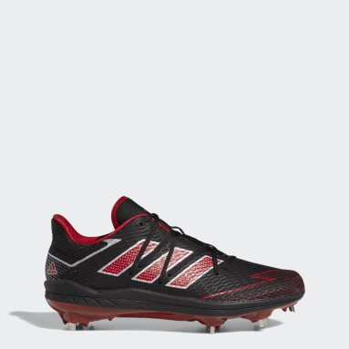 Men's Baseball Black Adizero Afterburner 7 Cleats