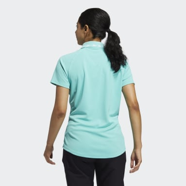 Women Golf Green Equipment Primegreen Polo Shirt