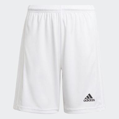 Short Squadra 21 blanc Adolescents Soccer