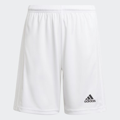 Youth Soccer White Squadra 21 Shorts