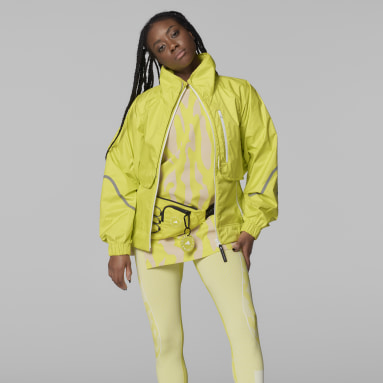 adidas by Stella McCartney TruePace Two-in-One Jacket Żółty
