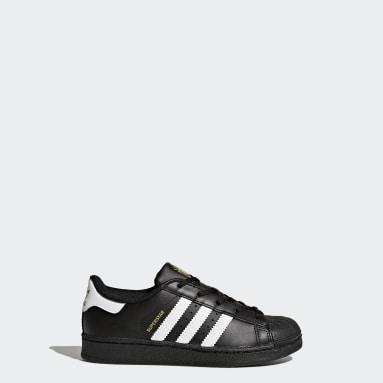 Children Originals Black Superstar Shoes