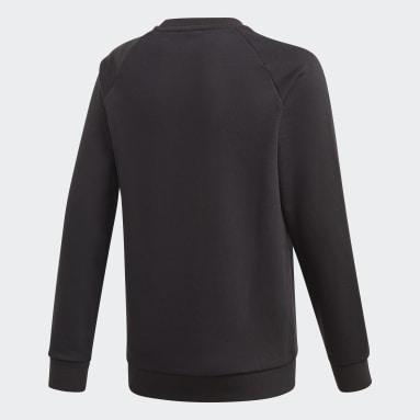 Sweat-shirt Adicolor Crew Noir Enfants Originals