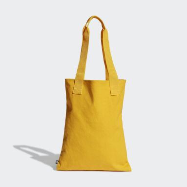 Lifestyle Yellow Canvas Shopper