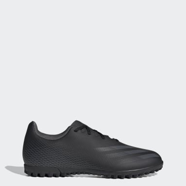 Men Football Black X Ghosted.4 Turf Boots