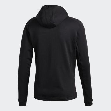 Campera técnica con capucha Terrex Stockhorn Hooded Fleece Negro Hombre TERREX