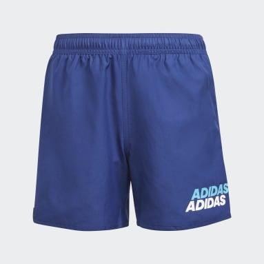 Boys Swimming Blue Lineage Swim Shorts