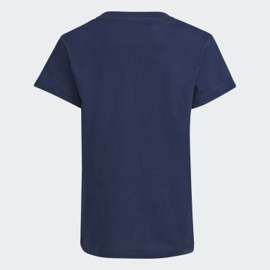 Kids 4-8 Years Originals Blue Trefoil T-Shirt
