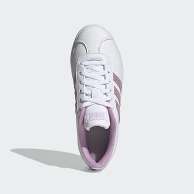 Kids 4-8 Years Walking White VL Court Shoes
