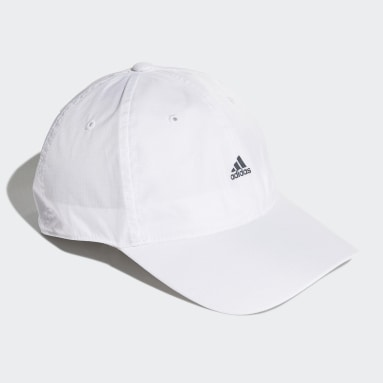 Cricket White Essentials Logo Lightweight Cap
