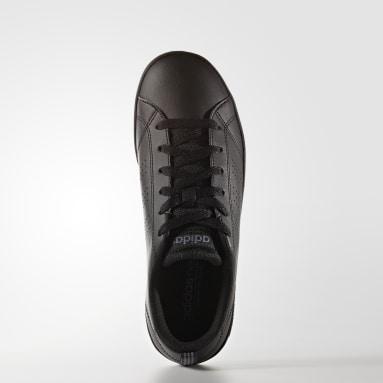 Tenis Advantage Clean (UNISEX) Negro Niño Diseño Deportivo