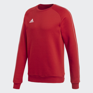 Men Gym & Training Red Core 18 Sweatshirt