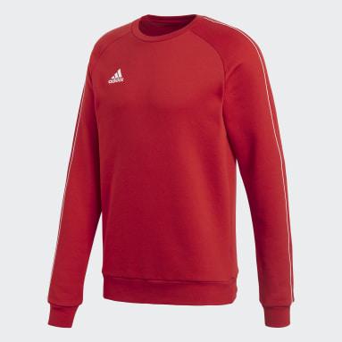 Sweatshirt Core 18 Vermelho Homem Ginásio E Treino