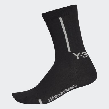Y-3 Black Y-3 Classic Crew Socks