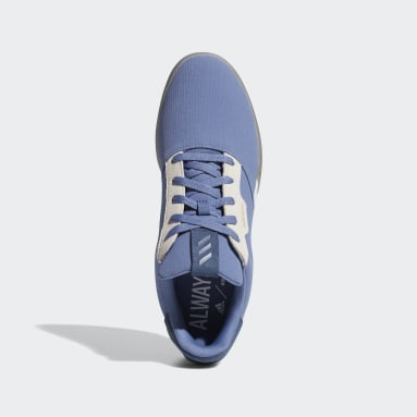 Men Golf Blue Adicross Retro Spikeless Shoes