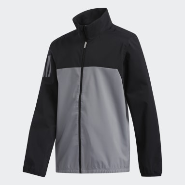 Boys Golf Black Provisional Jacket