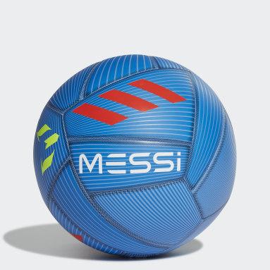 Men's Soccer Blue Messi Capitano Ball