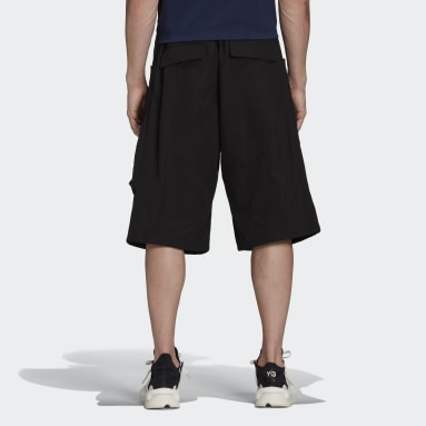 Men Y-3 Black Y-3 Classic Light Ripstop Utility Shorts