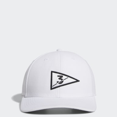 Men Golf White Golf Flag Hat