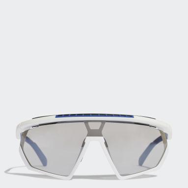 Hardlopen Wit Sport Zonnebril SP0029-H