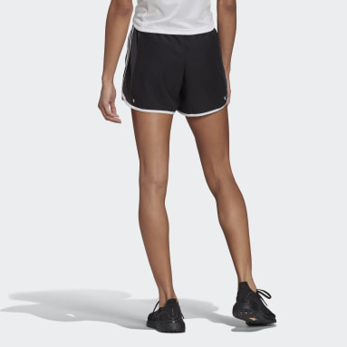 Women Running Black Marathon 20 Cooler Shorts