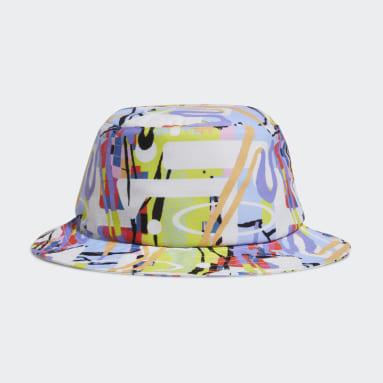 Originals Yellow Love Unites Allover Print Bucket Hat