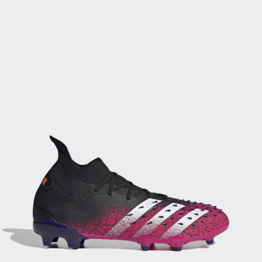 Soccer Black Predator Freak.2 Firm Ground Cleats